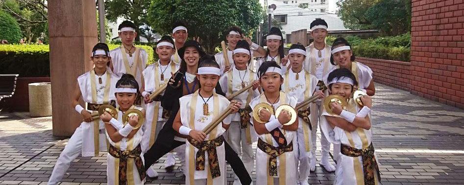 第22回日本太鼓ジュニアコンクール熊本県大会優勝