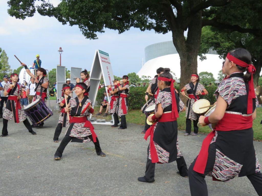菊陽武蔵剣豪太鼓
